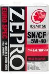IDEMITSU Zepro EURO SPEC 5W-40