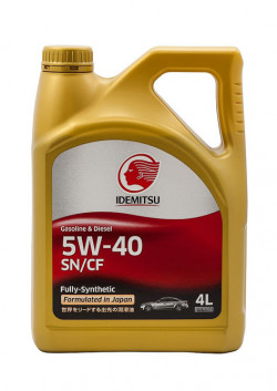 IDEMITSU Extreme 5W-40 SN/CF Fully-Synthetic