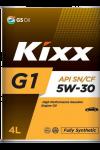 """Масло моторное синтетическое  KIXX  """"G1 5W-30"""", 4L"""