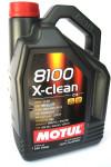"""MOTUL Масло моторное синтетическое """"8100 X-clean 5W-40"""", 5L"""