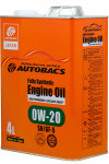 AUTOBACS Fully Synthetic 0W-20 SN/GF-5 4L