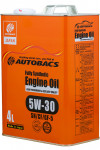 AUTOBACS Fully Synthetic 5W-30 SN/CF/GF-5 4L
