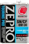 Idemitsu Zepro Touring Pro  0W-30 SN/CF GF-5 4L