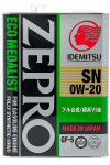 IDEMITSU ZEPRO ECO MEDALIST SN/GF5 0W20