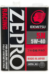 IDEMITSU Zepro Racing 5W-40 SN Fully Synthetic
